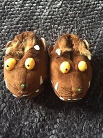 Gruffalo slippers size 8-9