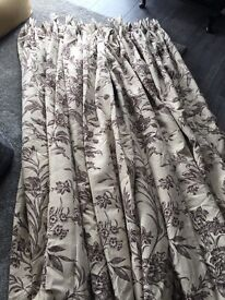 Laura Ashley curtains and blind