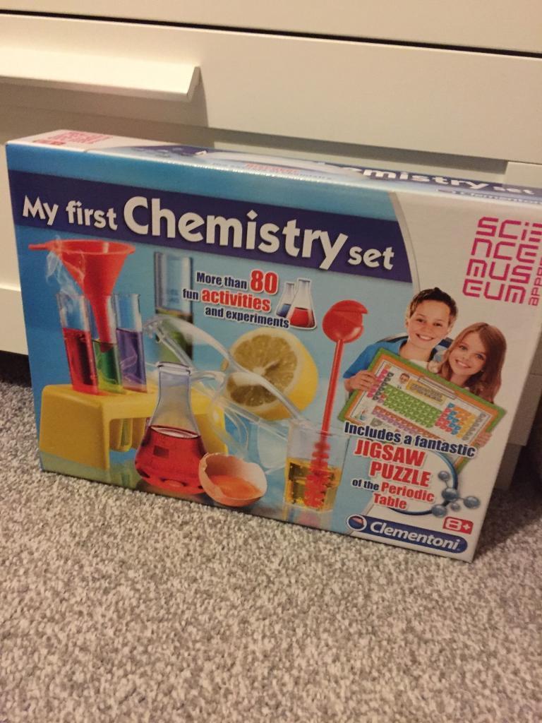 My first Chemistry set ~ New!