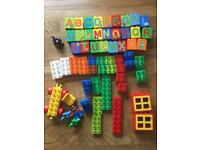 Duplo Alphabet Set