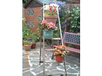 Shabby Chic Vintage Step Ladder