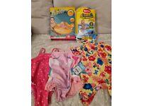 3-6 month baby girl swim bundle
