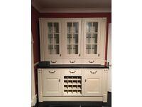 Kitchen Dresser Unit with black granite top