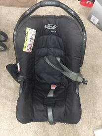Graco travel system: car seat and stroller