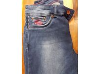 Womens superdry jeans size 12