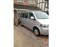 VW TRANSPORTER CARAVELLE 7 SEATER AUTO DSG LWB CLIMATE CONTROL FRONT & REAR . TABLE