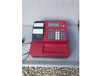 As new condition Red cash register