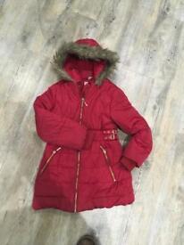 Girls TU coat age 5-6 years