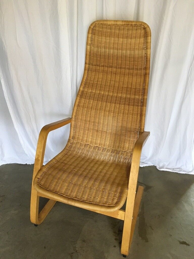 Lovely Rattan Ikea Poang Chair