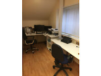 Self contained 1 to 4 person offices for rent near Canterbury Lakesview Business Park from £250