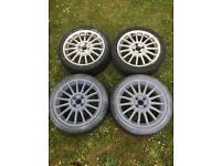 Alloy Wheels, 17in, MG ZR