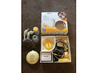 MEDELA SWING ELECTRIC BREAST PUMP (ALSO COMES WITH MANUAL PUMP)