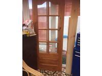Internal doors glazed