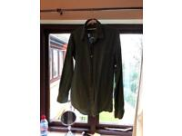 Mens green casual shirt size large