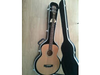 Acoustic Bass (Ken Rose AB-900E-SN) incl. hardshell case