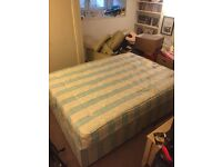 Double bed & mattress, £100