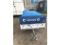 CONWAY TRAILER TENT PLUS EVERYTHING YOU WOULD NEED TO GO CAMPING QUICK SALE ONLY £280 THE LOT