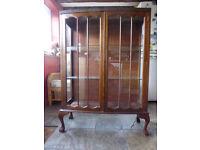 Edwardian Display Cabinet