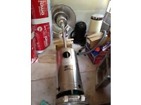 Palm Springs Stainless Steel 13kw Gas Patio Heater - £60 Gas Inc