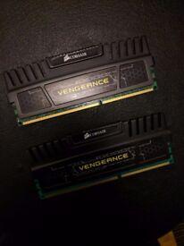 Corsair CMZ4GX3M1A1600C9 Vengeance (2 x 4gb) 8 GB DDR3 1600 Mhz C9 XMP