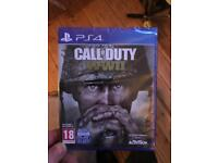 Call of duty WW2 ps4 new