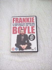 Frankie Boyle DVD If I could Reach Out Through Your TV and Strangle You I would