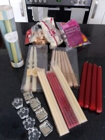 Selection of unused candles