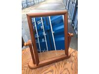 Pine dressing table mirror FREE DELIVERY PLYMOUTH AREA