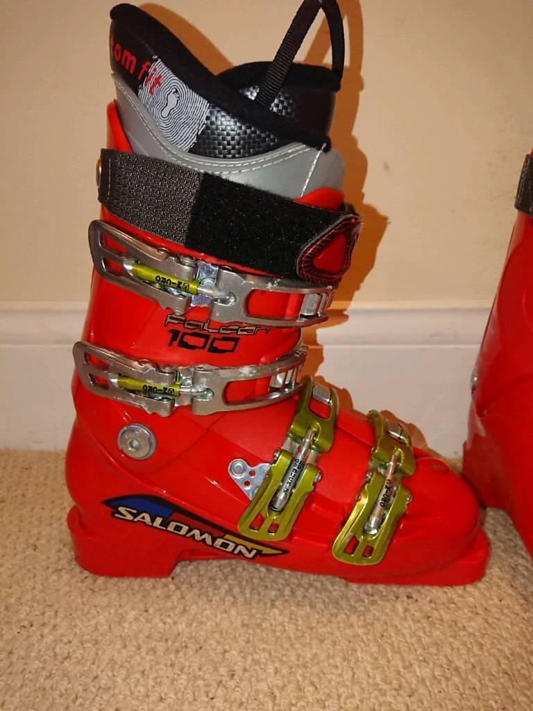 Salomon falcon UK size 5 ski boots