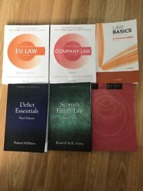 Selling bundle of Scots law books