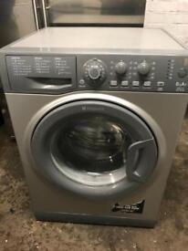 Hot point silver washing machine 6kg