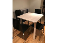 ikea dining table + 5 chairs (Old street) 45£