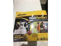 Wagner electric paint spraying system for indoor / outdoor use