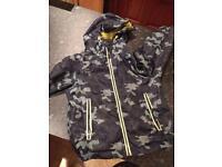 M&S boys army rain coat 5-6