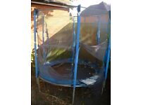 FREE to collector 6ft trampoline, no net, no mat