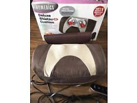 HOMEMEDICS - DELUXE SHIATSU CUSHION WITH HEAT - almost new