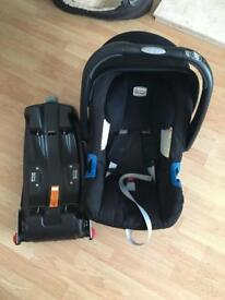 Britax babycar seat