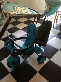 Blue monkey smartrike