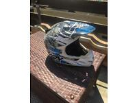 Shox motorcross helmet size xl