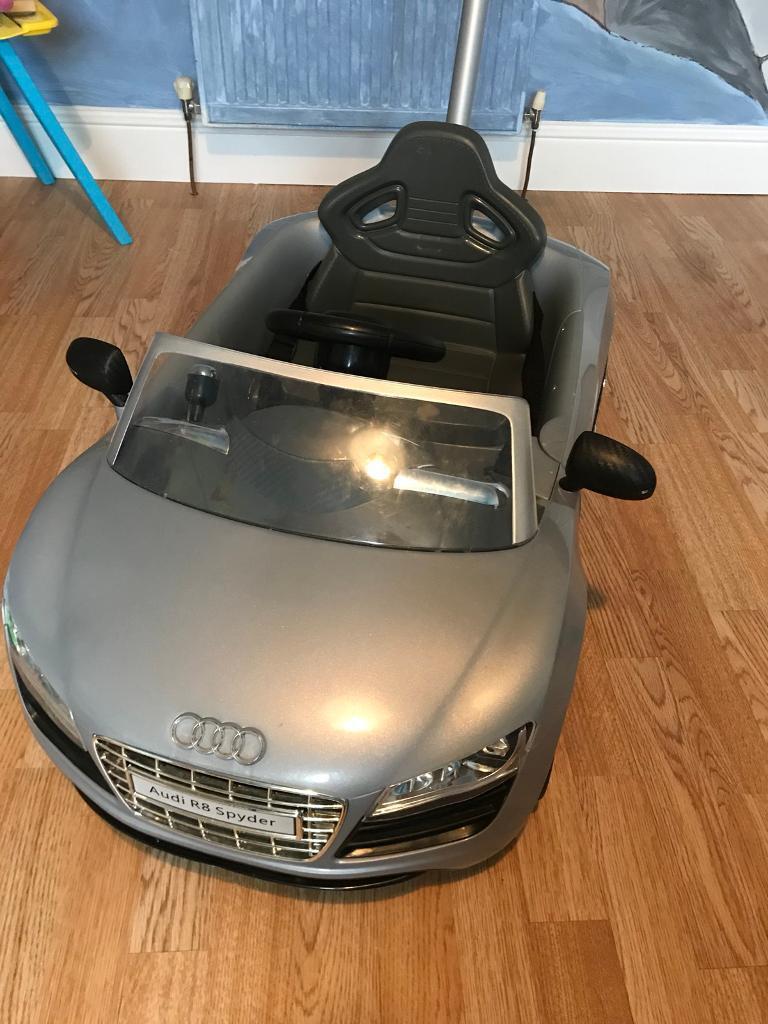 Audi push along car