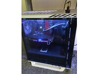 Custom high end Gaming pc with Dx racer chair