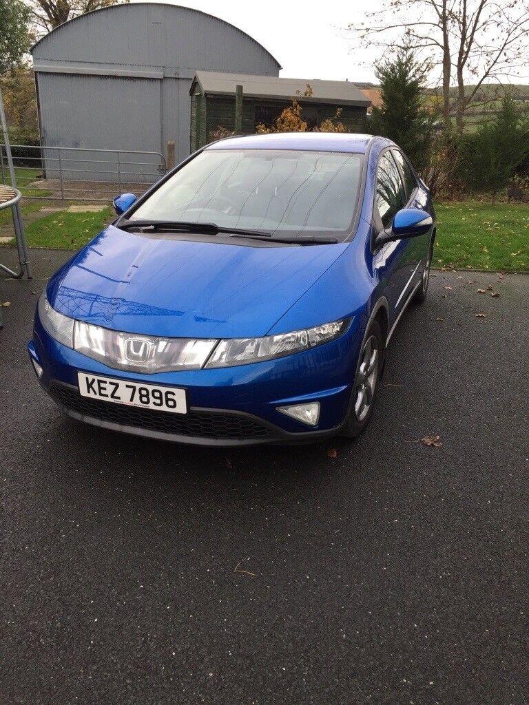 Honda Civic with towbar 2006 5door manual petrol