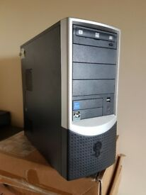 Windows 10 PC System Inc 17 Inch TFT Screen or tower only, AMD Dual Core, 500GB HDD, Office