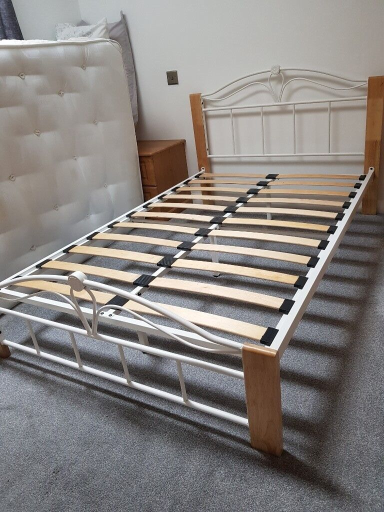 size 40 0af64 6f923 4ft small double bed frame for sale | in Chesterfield, Derbyshire | Gumtree