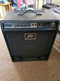 Peavey Max 115 Bass Amp with Lead