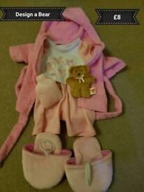 Design a Bear Bedtime Set
