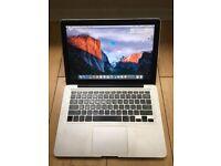 "Macbook Pro13""(2011)- 500GB, 8GB RAM (CD Drive not working)"
