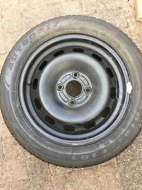 Wheel with tyre unused