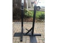 Squat Stands - Heavy duty pair