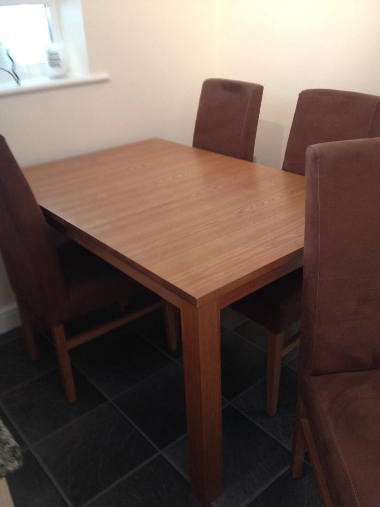 Kitchen or Dining Room Table plus 4 chairs